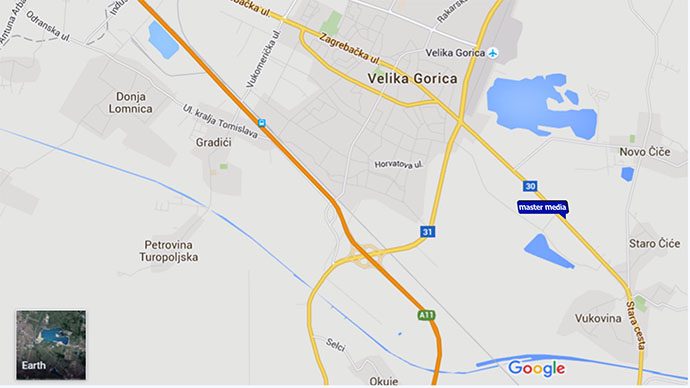 On the Velika Gorica road D30
